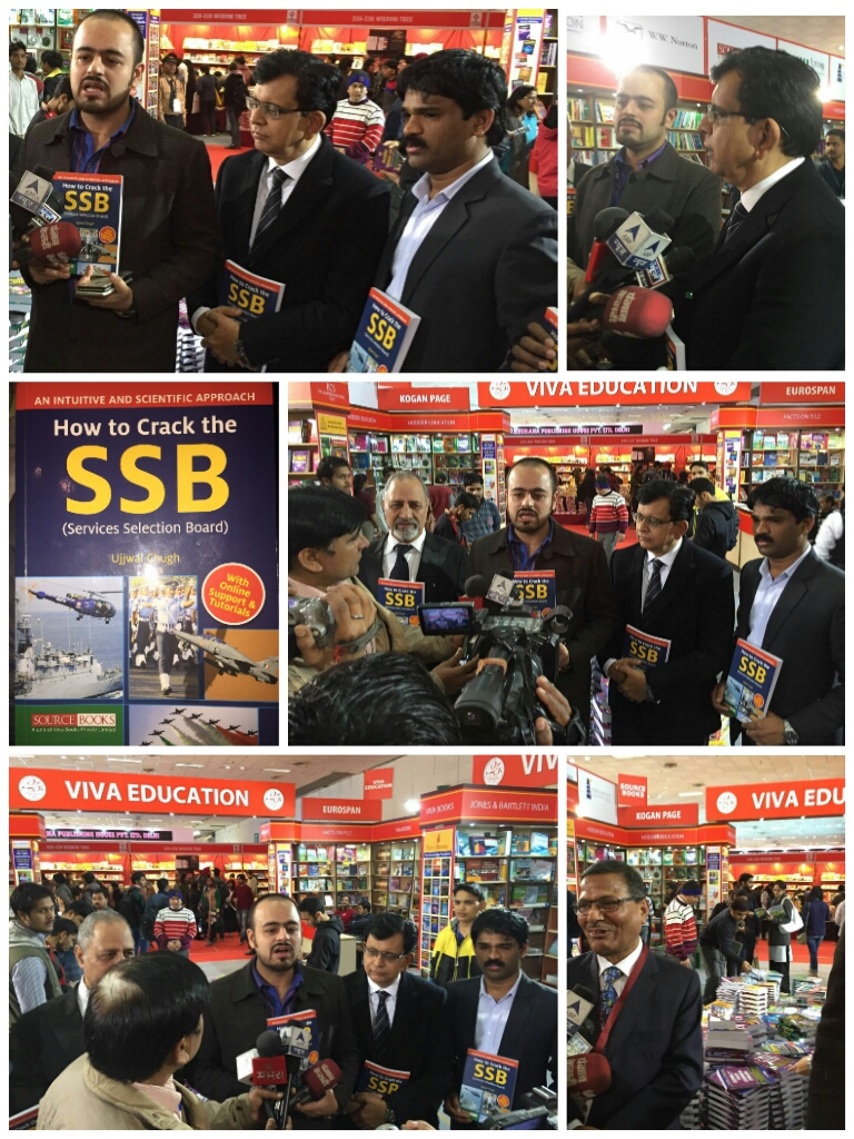 Authored and Launched a Hi-tech Intuitive & Result Oriented Book for Cracking the SSB