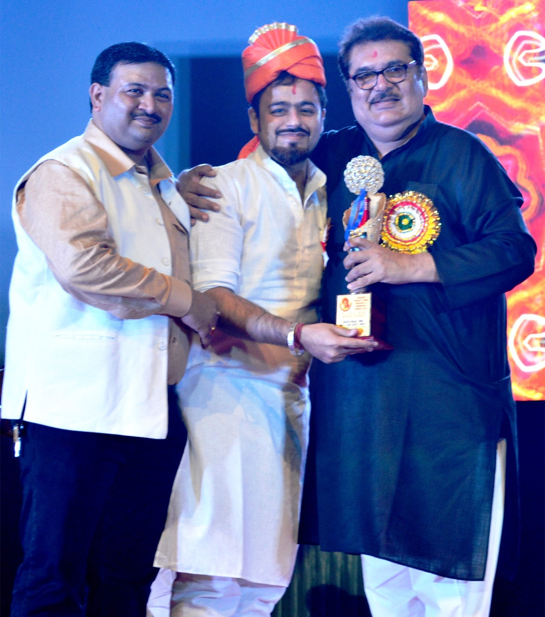 RECEIVED THE HONOR OF SHAHEED BHAGAT SINGH BRAVERY AWARD