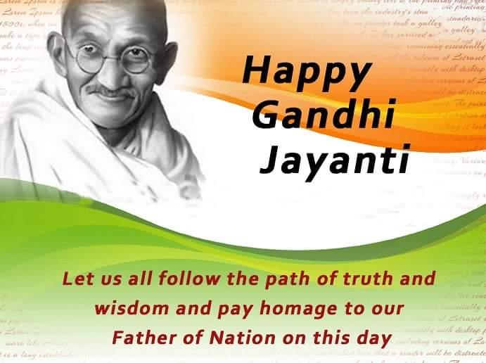 Celebrating Gandhi Jayanti- 2nd October'2016