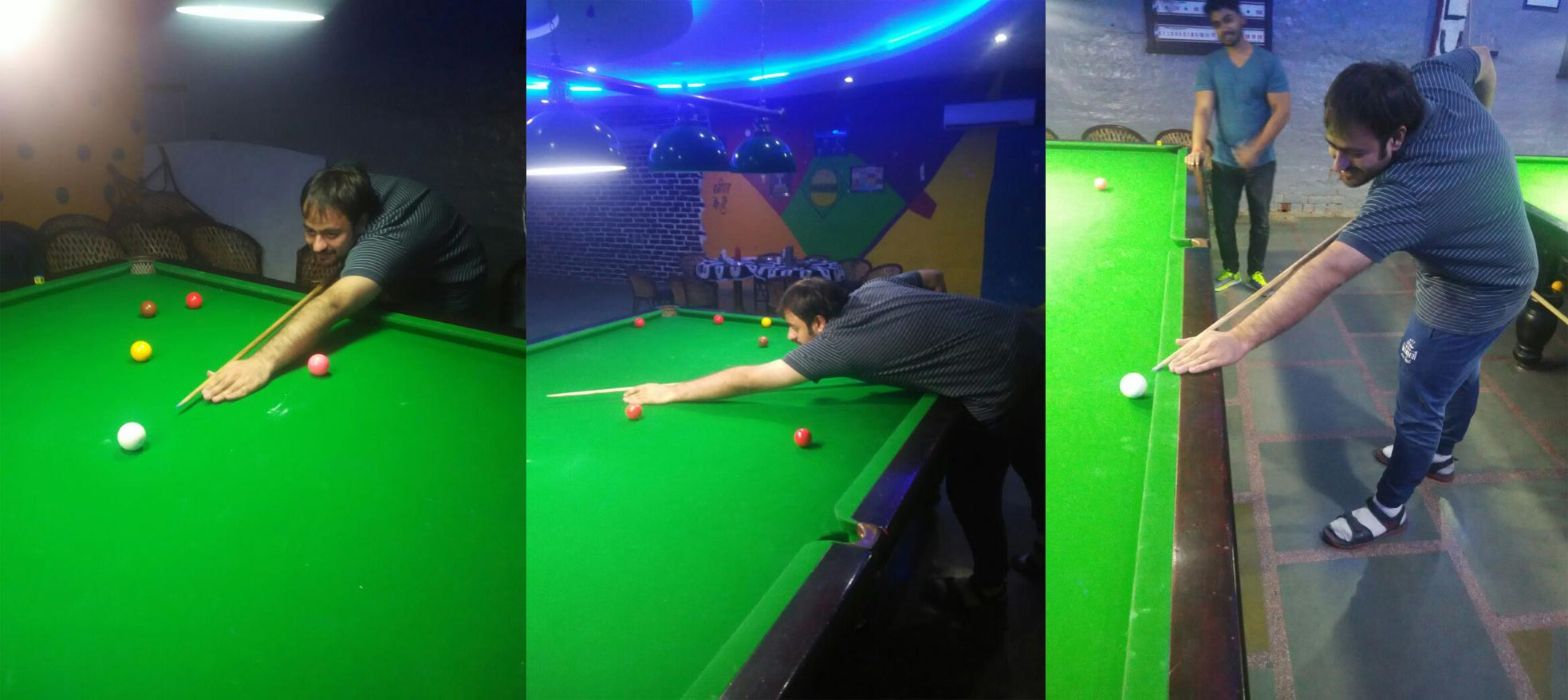 Life is like a Snooker !