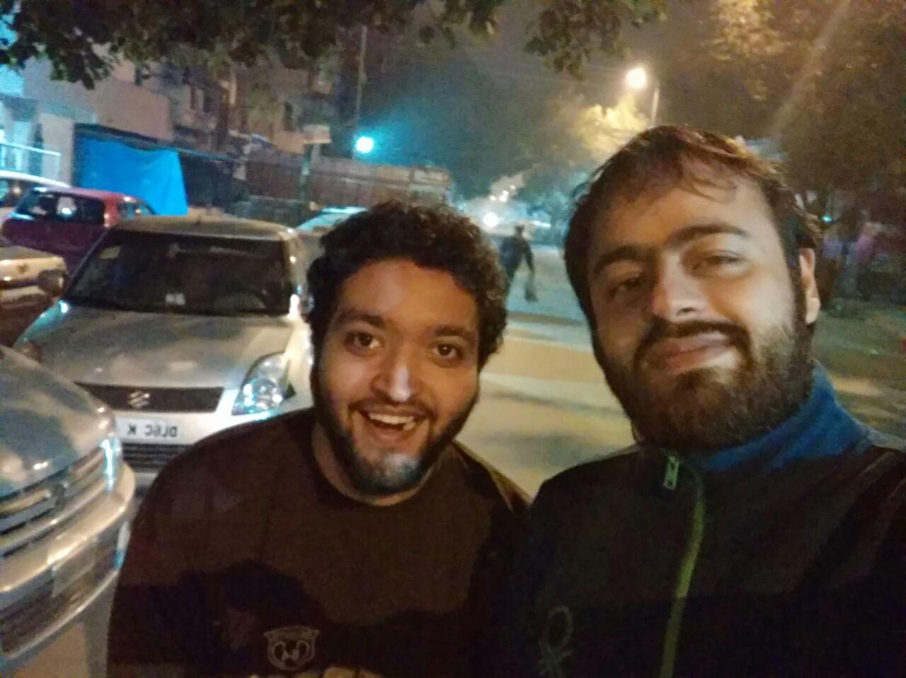 Walkathon From Jail Road, New Delhi till Ambience Mall, Gurgaon.