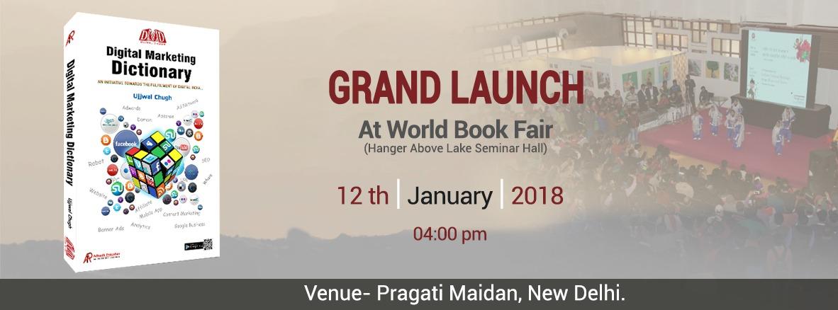 Grand Launching of Digital Marketing Dictionary By Ujjwal Chugh